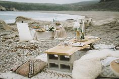 Beachfront Bohemian Styled Shoot - One to Wed {Photography by Loveridge Photography}