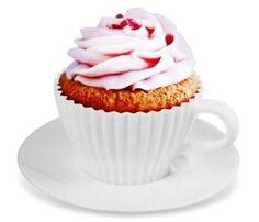 Cup Cake Tea Cup