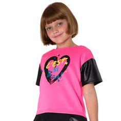 Neon Pink C'est Si Bon Top #tweenfashion #littlemissmatched
