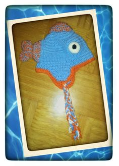 Crochet Fish Hat  (picture only)