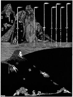 Grandma's Graphics: Harry Clarke - Tales of Mystery and Imagination by Edgar Allan Poe