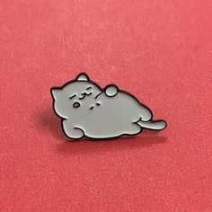 Tubbs Pin - $8.00  http://thesilentbell.bigcartel.com/product/neko-pins                                                                                                                                                                                 More