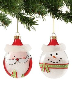Look+what+I+found+on+#zulily!+Santa+&+Snowman+Ornament+Set+by+Department+56+#zulilyfinds