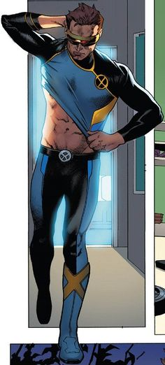 Cyclops - X MEN BLUE N0 2 - 2017