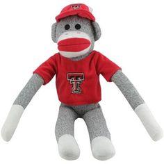 Texas Tech Red Raiders Uniform Sock Monkey http://www.texastechalumni.org/s/1422/index.aspx?sid=1422=1=389