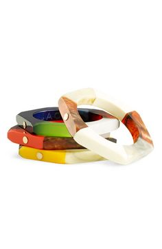 MARC BY MARC JACOBS 'High Tide Colorblock' Small Bolt Bangle