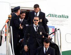 Leonardo Bonucci - Team Italy Arrives in Brazil FIFA 2014