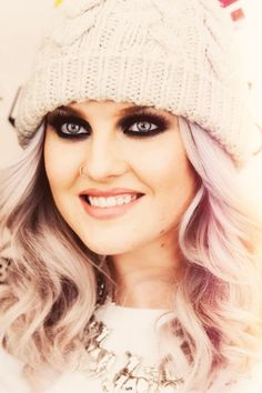The beautiful Perrie Edwards :) Loving the colored hair :) wish I could do the pink or purple :/