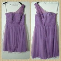I just added this to my closet on Poshmark: Wisteria colored bridesmaid dress. Price: $75 Size: 10