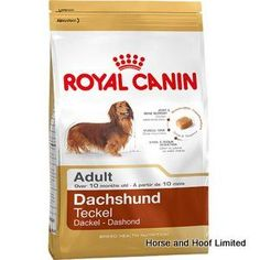 Royal Canin Dachshund 1 5kg Royal Canin Dachshund is a complete food designed to suit the unique nutritional needs that this funny little breed faces on a day to day basis.