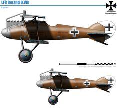 LFG Roland D.VIb Military Jets, Military Aircraft, Air Fighter, Fighter Jets, Fighter Aircraft, Aviation Art, Luftwaffe, World War I, Wwii