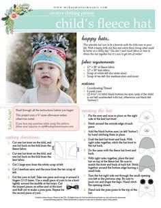 McKay Manor Musers: Free Fleece Hat Pattern