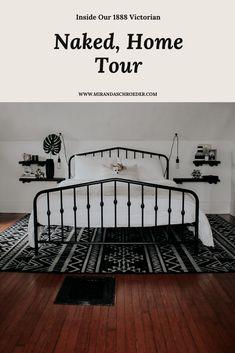 Naked House Tour | Miranda Schroeder Blog Take a look inside our 1888 Victorian pre-renovation! www.mirandaschroeder.com