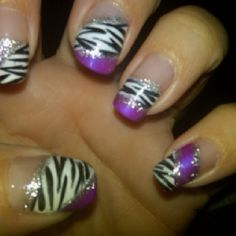 Zebra design! Love my zebra!