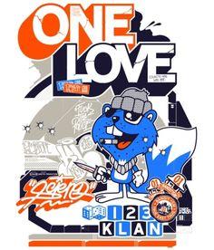 ONE LOVE 123KLAN POSTER
