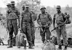 An Angolan Army Squadron prepares to deploy sometime during The Battle of Cuito Cuanavale.