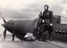 Александр Покрышкин-лётчик ас WW-2