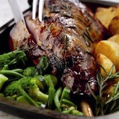 Slow cooked lamb dish, specially designed by New Zealand Lamb. - Lazy Lamb