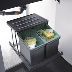 Pull Out Kitchen Under Sink Trash Garbage Rubbish Can Bin Waste Container