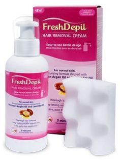 Enthaarung mit FreshDepil