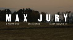 Max Jury - Something In The Air [Full EP]