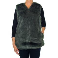 Laundry By Design Faux Vest, Women's