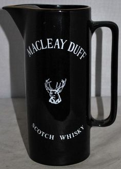 MACLEAY DUFF SCOTCH WHISKY Water Jug, in Excellent Condition