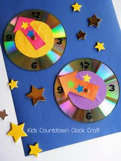 Wondering what to do with those CDs you've collected over the years? We've found 12 amazing ideas how to repurpose old CDs to create beautiful, unique pieces of art Kids Crafts, Old Cd Crafts, New Year's Eve Crafts, Crafts For 3 Year Olds, Easy Easter Crafts, Holiday Crafts For Kids, Preschool Crafts, Diy For Kids, Crafts To Make