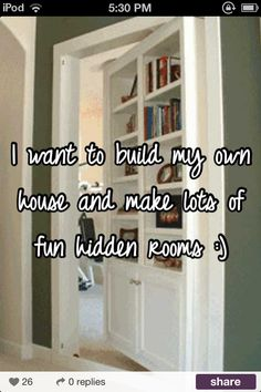 I so what to do this when I buy a house!