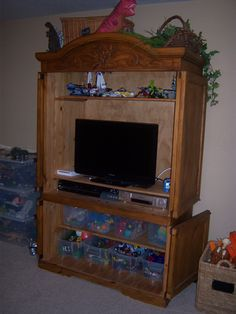 playroom armoire  http://littlebrags.blogspot.com