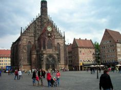 Nuremberg, Germany  Believe it or not...that is a church in Old Stadt!  I was here in 1999