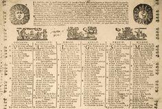 Almanacco di Barbanera, 1762