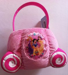 Amazon:  Disney Princess Plush Pink Easter Basket - $15.95!