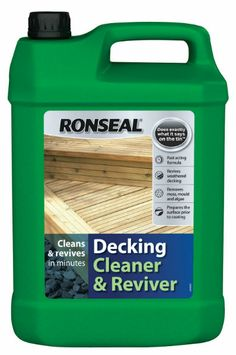 Decking cleaner - we all need it!