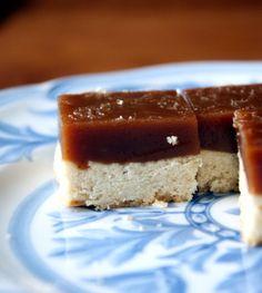 mmmm...salted caramel squares