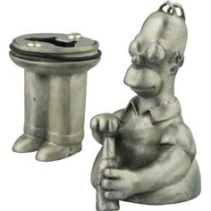 Homer Simpson Pewter Bottle Opener ** To view further for this item, visit the image link.