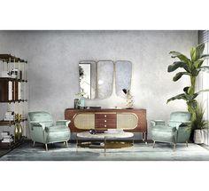 Bardot Armchair | Essential Home Mid Century Furniture