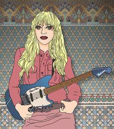 Courtney Love in The Dark Night of The Soul  http://www.youtube.com/watch?v=Pq7XsHXsKDM