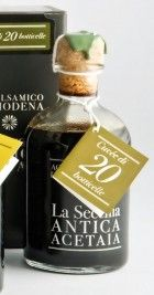 Cuvée 20 This superb balsamic vinegar is aged in small barrels. Its sweet flavour and syrupy consistency brings out the best in roasted and grilled meats, aged cheese, ice cream, and fruit salads Balsamic Vinegar Of Modena, Aged Cheese, Like Fine Wine, Fruit Salads, Larder, Grilled Meat, Barrels, Moma, Consistency