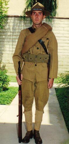 world war 1 british uniform Us Army Uniforms, British Uniforms, 303 British, British Army, American War, American Soldiers, World War One, First World, Usmc