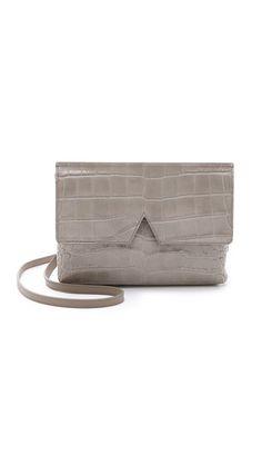 Vince Croc Embossed Cross Body Bag #Shopbop