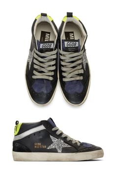 Golden Goose Black Sneakers For Women
