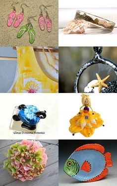Alice is at the BEACH! by Marionette on Etsy--Pinned with TreasuryPin.com