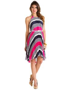 Just Bought this Dress on Ruelala and wearing it this Summer!!!Max and Cleo 'Holly' Berry Halter Dress
