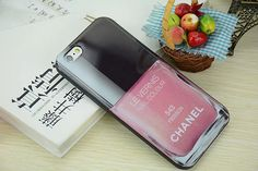 CHANEL Nail Polish Bottle Silicone Protective Case for iPhone 6S/6S Plus iPhone 6/6 Plus iPhone 5/5S