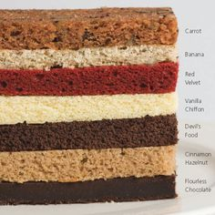 What's your favorite cake flavor? Red Velvet, Carrot, Vanilla Chiffon, Chocolate, Cinnamon, Hazelnut? We could go on forever!