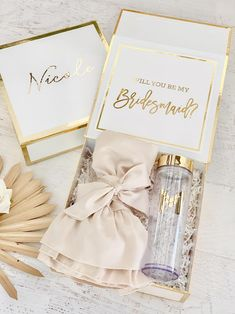 Bridesmaid Gift Boxes, Bridesmaid Proposal Box, Unique Bridal Shower, Bridal Shower Gifts, Monogrammed Bridesmaid Gifts, Engagement Gift Boxes, Maid Of Honour Gifts, Bride Gifts, Monogram Tumblers
