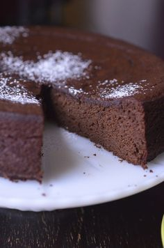 Nigella's Flourless Chocolate Orange Cake - Always Order Dessert