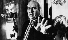 Budd Dwyer, and American politician, seconds before he killed himself on live TV