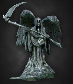 ArtStation - Harry Potter Graveyard Statue, Mark Ranson